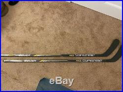 2 Pack Bauer Pro Stock Custom G3 (Dressed as Supreme MX3) LH Grip P92 Sticks
