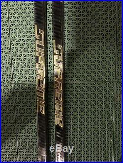 2 Pack Brand New Bauer Sticks Supreme 2S Pro LH87 Flex 62inch P92 Grip