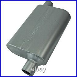 842448 Flowmaster Muffler New for Chevy Olds Blazer Cutlass Oval Coupe Mustang