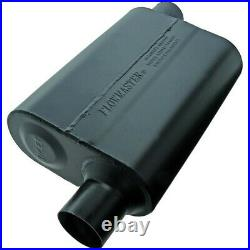 942448 Flowmaster Muffler New for Chevy Olds Blazer Cutlass Oval Coupe Mustang
