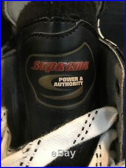 BAUER SUPREME 3000 PF5 Ice Hockey Skates size US 11 D New In Box NIB SR Custom +