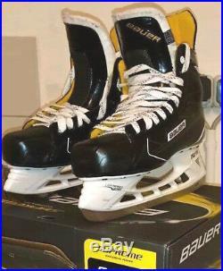 BAUER SUPREME S170 in Größe 9.5 EE EUR 45,0 Schlittschuhe Skates Skate Eishockey