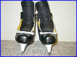 BAUER Supreme 1s Pro Stock Hockey Skates SENIOR Left 9 1/2 Right 9 WIDE -NEW