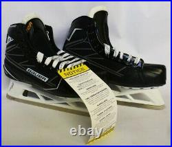 BAUER Supreme Explosive Power S170 Goal Skates Senior Size 9.0 Width D NEW