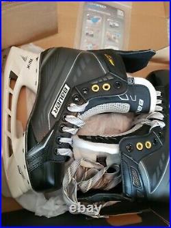 BAUER Supreme Explosive Power S170 Goal Skates Size 6.0 Width D Shoe Size 7.5