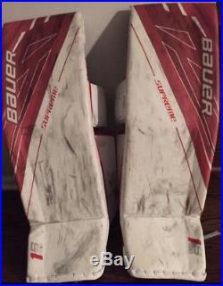 Bauer 1S Supreme Goalie Pads XL 36+1