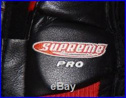 Bauer Goalie Supreme Pro Goalie Pads Brand New Rare Heaton Brians Goalie Chicago