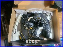 Bauer Hockey skates size 6.5D for shoe size 8 new SUPREME One. 8