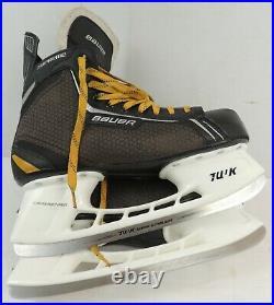 Bauer ONE. 4 Hockey Ice Skates Men's size 13.5 TUUK Super Stainless Steel Blades