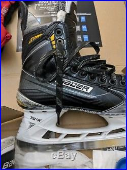Bauer Supreme 190 Hockey Skates, Adult Size 6D, Like New with Superfeet Insoles