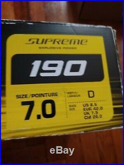 Bauer Supreme 190 Ice Skates Senior 7.0 Width D US shoe size 8.5