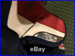 Bauer Supreme 1S Hockey Gloves Maroon/Navy Senior Size 13 NWT. (Brand New)