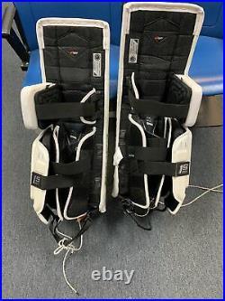 Bauer Supreme 1S ODIN Hockey Goalie Pads Senior Large White New