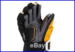 Bauer Supreme 1S Senior Hockey Gloves Black/Gold NEW, 14 36cm
