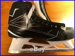 Bauer Supreme 1s Goalie Skates Size 10 Pro Stock