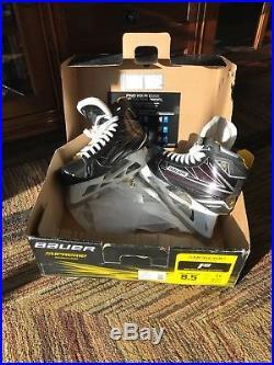 Bauer Supreme 1s Goalie Skates Size 8.5 EE New