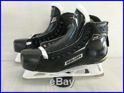 Bauer Supreme 2S PRO Mens Pro Stock Goalie Skates Size 9.5 E 8098
