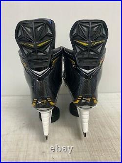 Bauer Supreme 2S PRO Mens Pro Stock Hockey Skates Size 7 D 8274