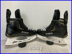 Bauer Supreme 2S PRO Mens Pro Stock Hockey Skates Size 9 8834