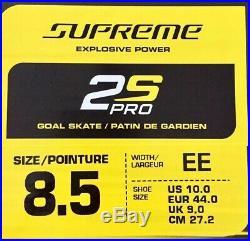 Bauer Supreme 2S Pro Goalie Schlittschuhe Senior Gr. 8,5 EE (44)