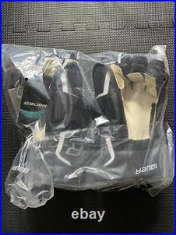 Bauer Supreme 2S Pro Hockey Gloves Black/Red/White Senior Size 14