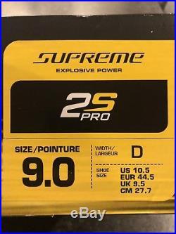 Bauer Supreme 2S Pro Hockey Skates Senior 9.0D