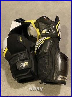 Bauer Supreme 2S Pro S19 Elbow Pads Senior Extra Large Xl Pro Stock Brand New