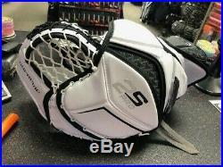 Bauer Supreme 2S Pro Senior Glove and Blocker WHT/BLK (demo)