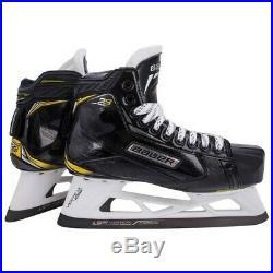 Bauer Supreme 2S Pro Senior Hockey Goalie Skates Size 7.5 D