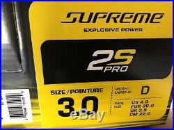 Bauer Supreme 2S Pro Skate Junior Skate Size 3D