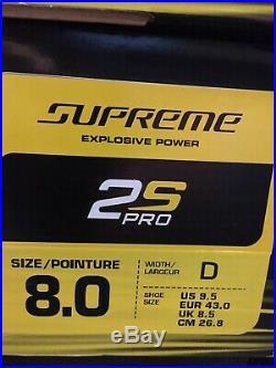 Bauer Supreme 2s Pro Skates SZ 8D