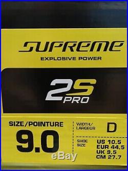 Bauer Supreme 2s Pro Skates SZ 9D