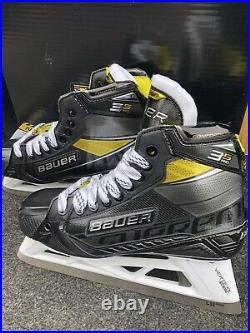 Bauer Supreme 3S Pro Goal Skate Size 8D