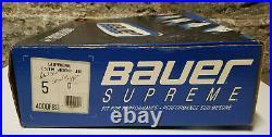 Bauer Supreme Custom 4000 Ice Hockey Skates Jr. US Size 5D New in Box