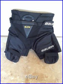 Bauer Supreme Elite Goalie Pant Senior Size Large New New New
