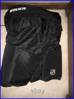 Bauer Supreme Hockey Pants, San Jose Sharks, Large +2 Length Adjustment