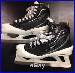 Bauer Supreme One60 Junior Goalie Skates 4 D New