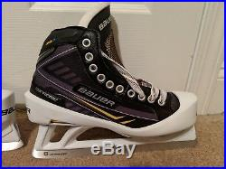 Bauer Supreme ONE. 7 US Size 8.5 EE Senior Goal Ice Skates
