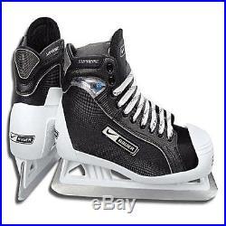 Bauer Supreme One55 Goal ice hockey goalie skates sz. D