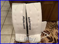 Bauer Supreme One. 7 34+ 1 Goalie Pads