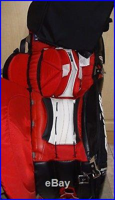 Bauer Supreme Pro Edition Goalie Pads Brand New Rare Chicago Colors