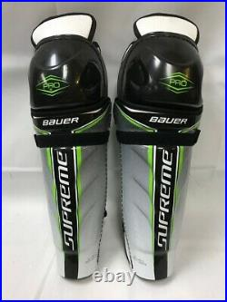 Bauer Supreme Pro Shin Guard SR-CTC Size 15.0 Brand New with Tags