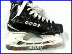 Bauer Supreme S180 Ice Hockey Skates Senior 6.5D with Brand New LS Pulse Blades