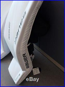 Bauer Supreme S190 Hockey Goalie Leg Pads Senior XL (36+1) Brand New