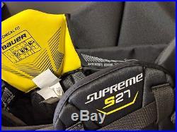 Bauer Supreme S27 Goalie Pants Senior Black Brand New