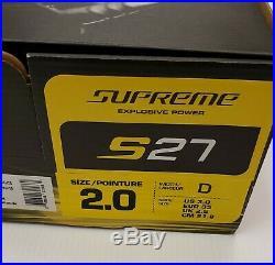 Bauer Supreme S27 Size 2.0 D