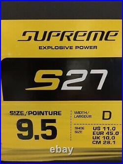 Bauer Supreme S27 Skate SZ 9.5D
