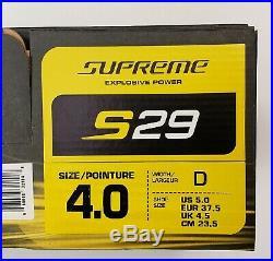 Bauer Supreme S29 Size 4.0 D