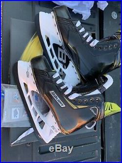 Bauer Supreme SR S18 SDC/ Comp Size 7.5 WideD Hockey Skates(NEW)