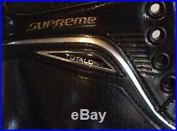 Bauer Supreme Total One Sr. Size 12D Hockey Skates NEW NEW NEW